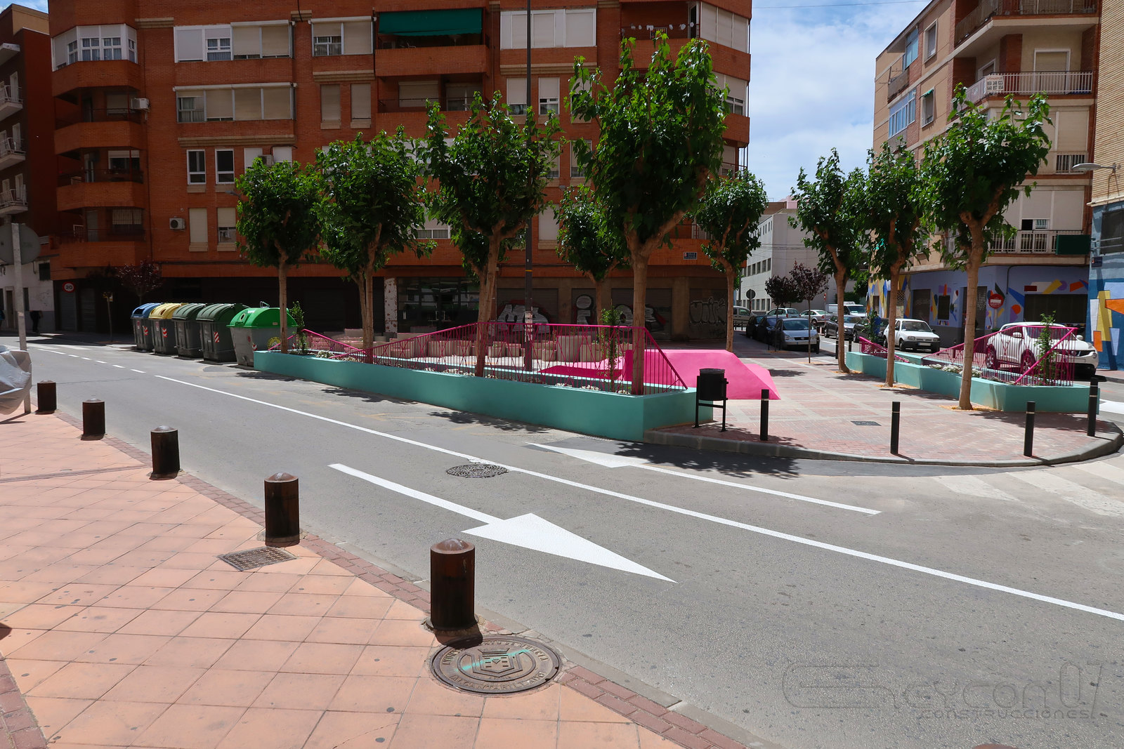 Plaza escultor Nicolas de Bussi